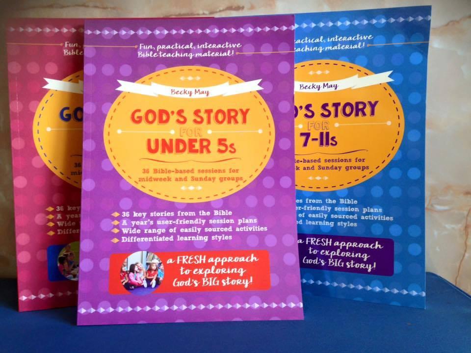 Three God's Story Books